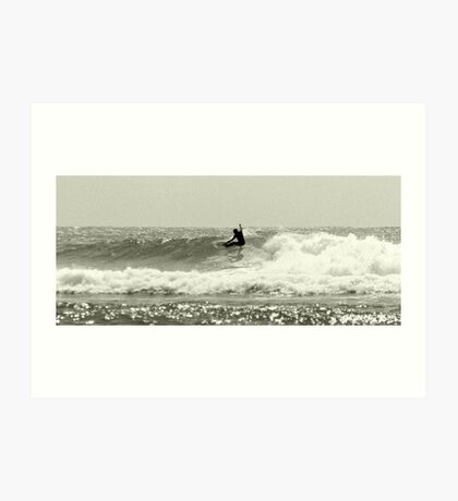 Snappper Rocks Surfer Art Print