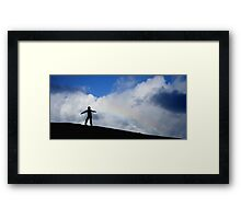 Rainbow boy Framed Print
