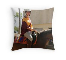 Winners Are Grinners Throw Pillow