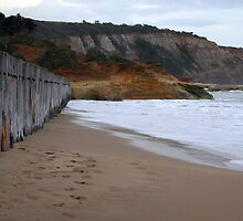 Anglesea beach by liquidlines