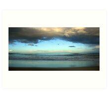 Window to the ocean Art Print