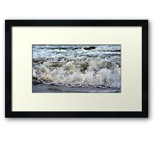 Ocean Bubbles Framed Print