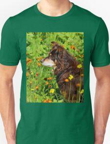 A Thoughtful Moment For  Australian Shepherd T-Shirt