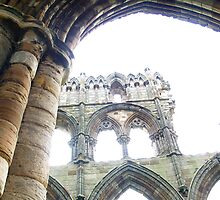 Whitby Ruins 2 by A Leung