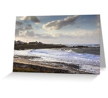 Machrihanish Pans One Greeting Card