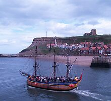 Whitby Bay by A Leung