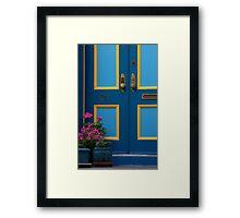 Door Step Framed Print