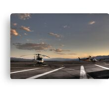 Boulder City Helicopters Canvas Print