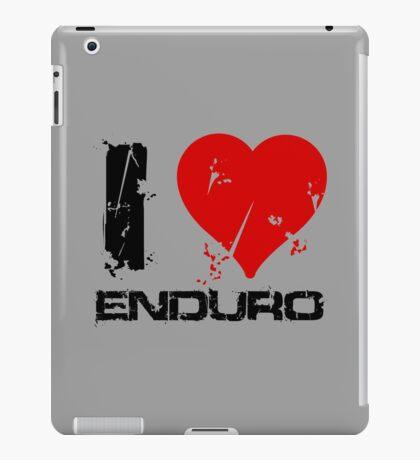I love Enduro iPad Case/Skin