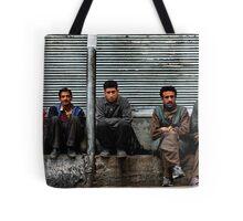 kashmiri boys. north india Tote Bag