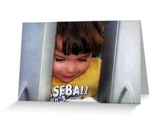 Hide and seek.... Greeting Card