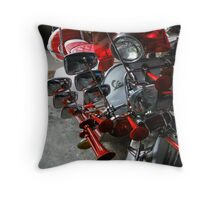 Rad Vespa Throw Pillow