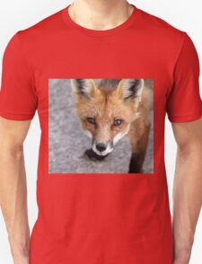 Please Feed Me - Red Fox Unisex T-Shirt