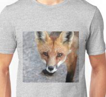 Please Feed Me - Red Fox Unisex T-Shirt