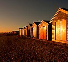 Evening Glow by David Sumner