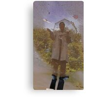 Weather reporting with Inspector Gadget. Canvas Print