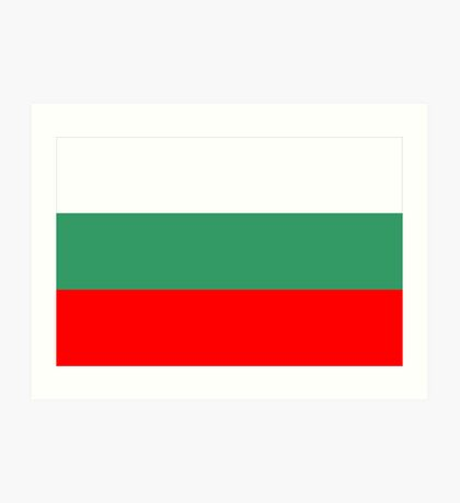 Bulgaria, national id Art Print