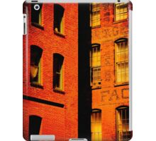 brick and glass iPad Case/Skin