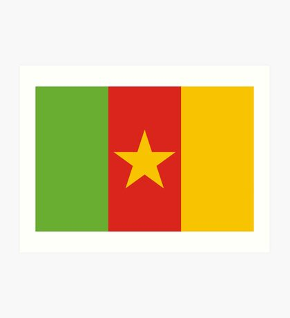 Cameroon, national id Art Print