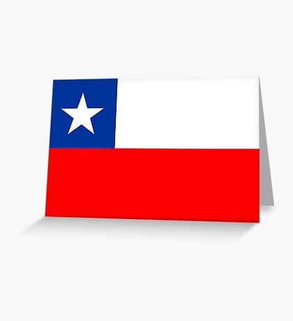 Chile, national id Greeting Card