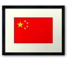 China, national id Framed Print