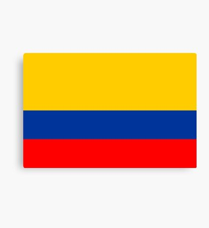 Colombia, national id Canvas Print