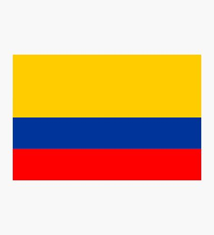 Colombia, national id Photographic Print