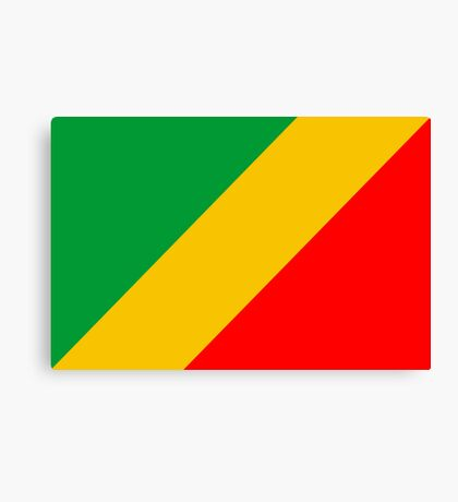 Congo, national id Canvas Print
