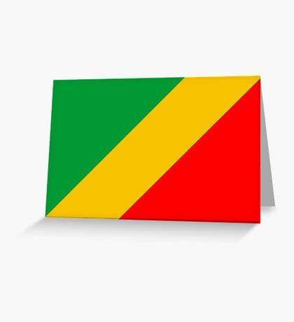 Congo, national id Greeting Card