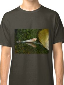 Falling Tree Reflections In River Classic T-Shirt