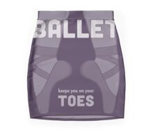 Ballet Keeps You on Your Toes Mini Skirt
