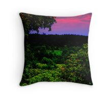 Valley of Colour. Throw Pillow