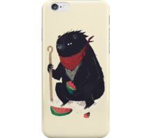 guardian bear iPhone Case/Skin