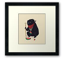 guardian bear Framed Print
