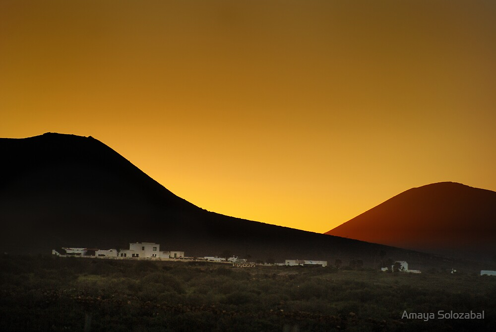 Good Night Lanzarote by Amaya Solozabal
