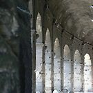 Light breaking through the Colleseum,Rome. by loochi