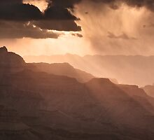 Grand Canyon - Morning View by Michael Breitung