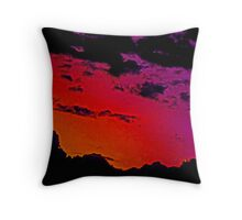 Northwest Sky Throw Pillow