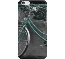 Autumn in Japan:  Green Transportation iPhone Case/Skin