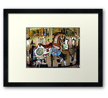 A Ride Of Times Past Framed Print