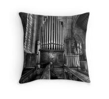 Many a Hymn (B&W) - The Garrison Church c.1843, The Rocks Sydney- The HDR Experience Throw Pillow