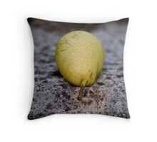 Pear In the Sun Throw Pillow