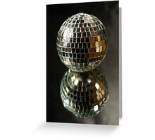 Shiny disco ball Greeting Card
