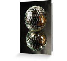 Shiny disco ball Greeting Card