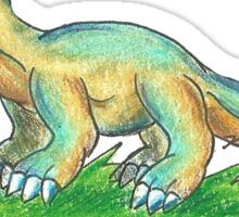 Little Apatosaurus Hatchling Sticker