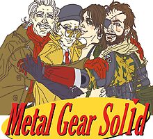 Metal Gear Solid Seinfeld Logo by megtalgearsalad
