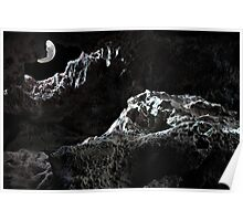 Moon cave Poster