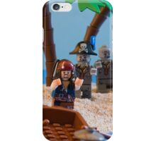 Lego Captain Jack Sparrow and the wrong zombies iPhone Case/Skin
