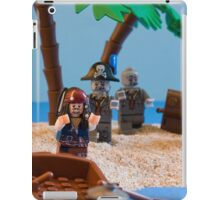 Lego Captain Jack Sparrow and the wrong zombies iPad Case/Skin