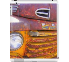 Old Mexican truck iPad Case/Skin